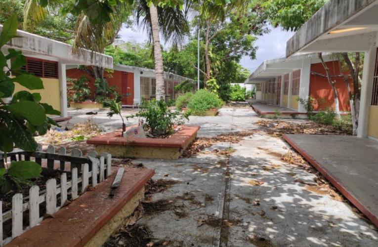 Supervisan escuelas de educación básica para emprender acciones de limpieza y mantenimiento