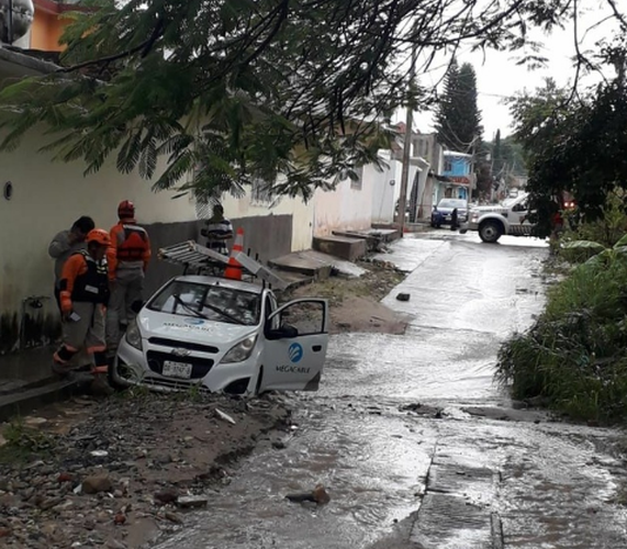 Muere mujer y sus 3 nietos, sepultados por un alud en Chiapas