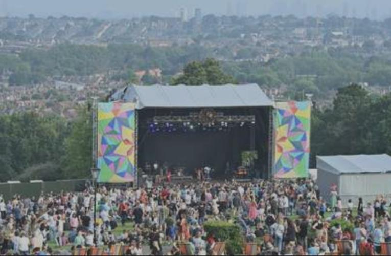 En Kaleidoscope, miles festejan el retorno de la música en vivo
