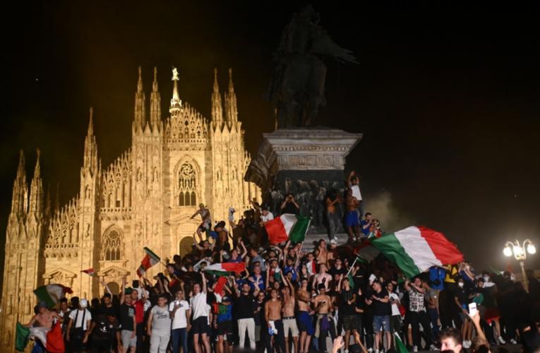 Un muerto y varios heridos en celebraciones de la Eurocopa en Italia