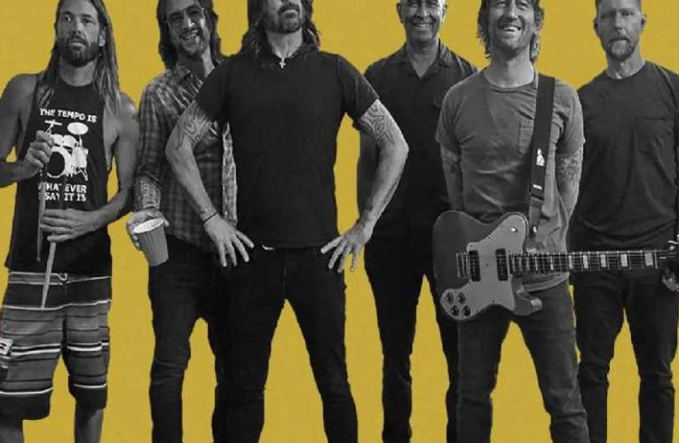 Foo Fighters anuncia concierto en la Ciudad de México