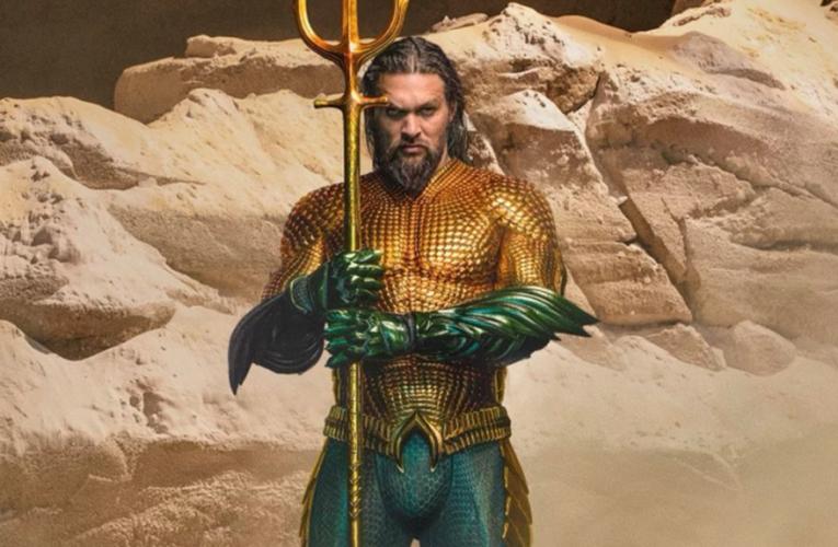 Se revela el nuevo traje de Aquaman