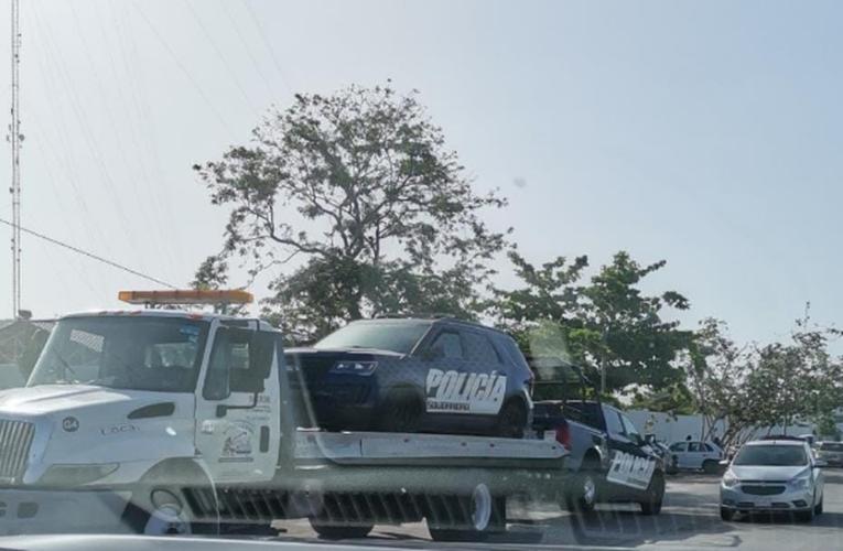 Retiran patrullas rentadas de Solidaridad; tiene municipio 82 vehículos propios