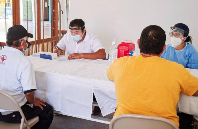 Instalan módulos periféricos de detección y tratamiento de Covid-19 en Playa del Carmen