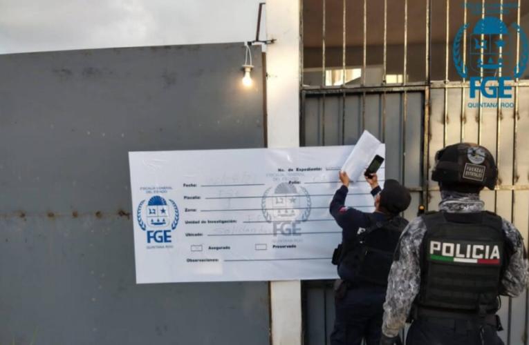 Detienen a una persona y aseguran droga en cateos en Playa del Carmen