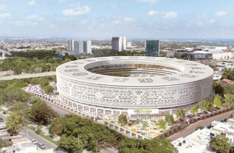 Mérida tendrá su estadio; joya amigable con el planeta