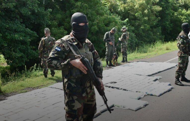 Policía de Nicaragua decomisa 863 kilos de cocaína valorados en 21,4 millones
