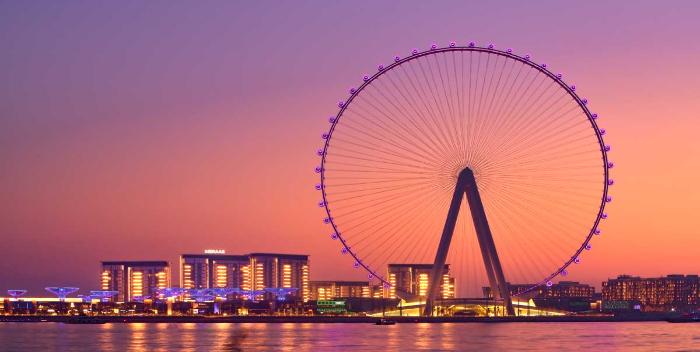 Dubái inaugura la noria de observación más alta del mundo